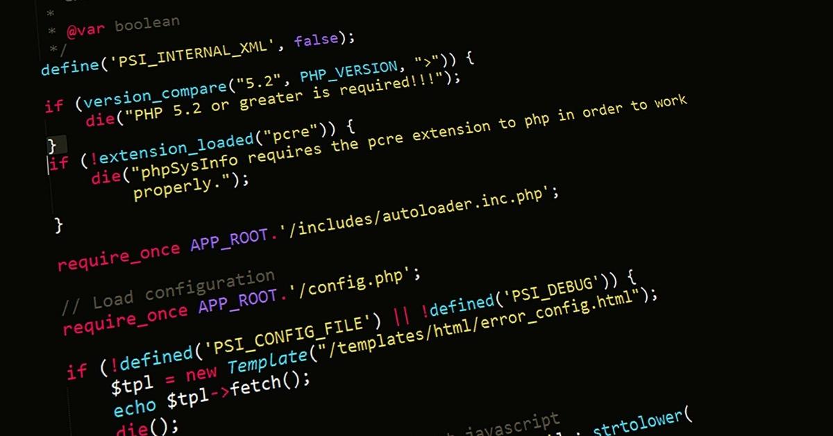 phpプログラミングイメージ