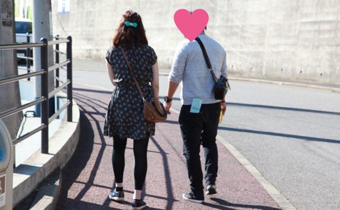 お散歩タイム(鎌ヶ谷スタジアム)